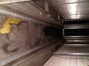 Air Handler Insulation Repair Ductworks